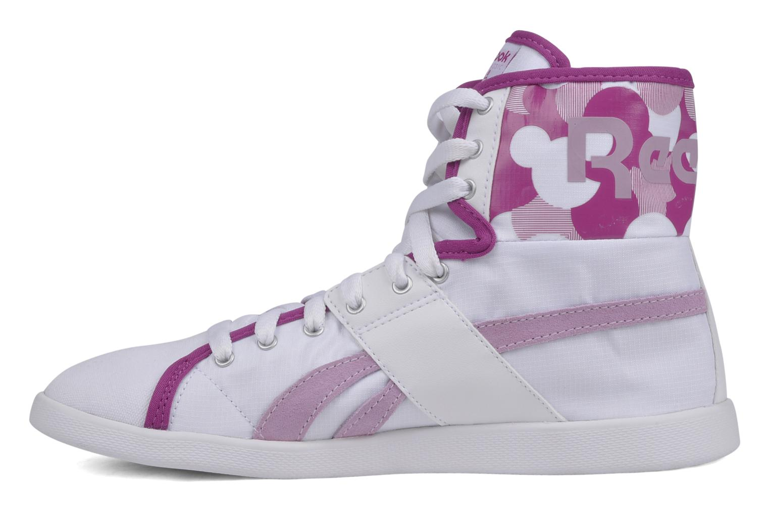 Sneakers Reebok Top down nc Bianco immagine frontale