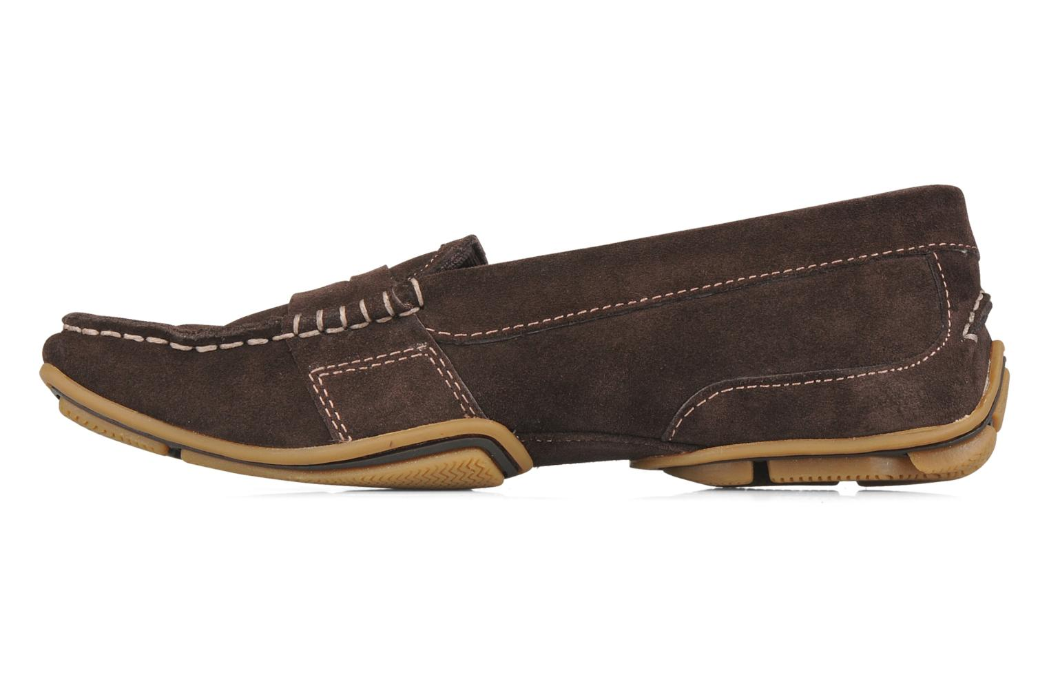 Loafers Rockport Mesh moc Brown front view