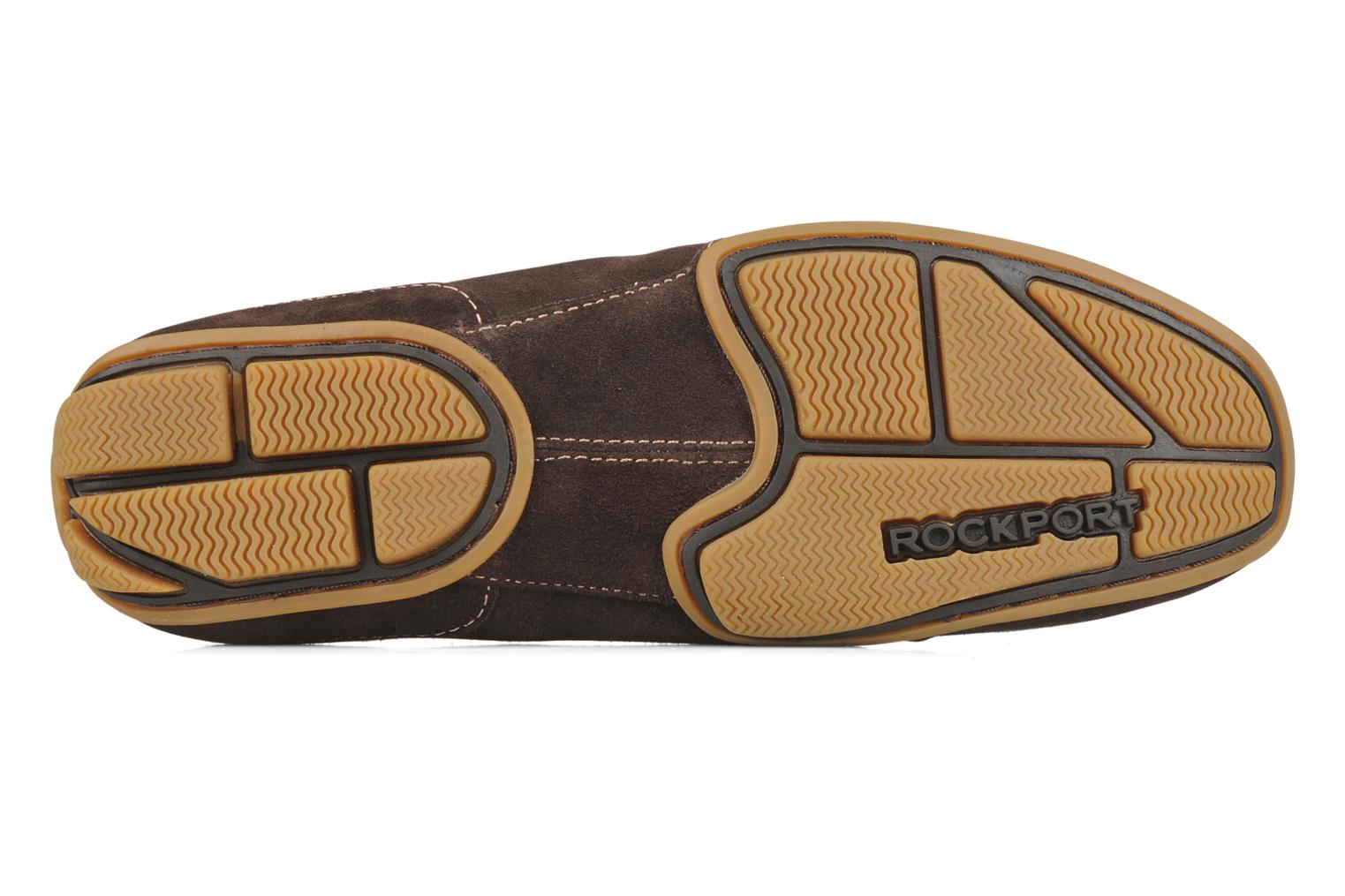 Loafers Rockport Mesh moc Brown view from above