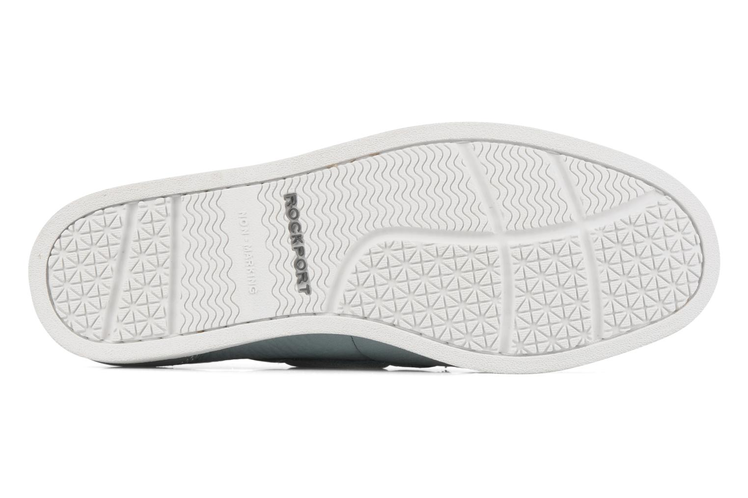 Lace-up shoes Rockport 2 eye boat Blue view from above