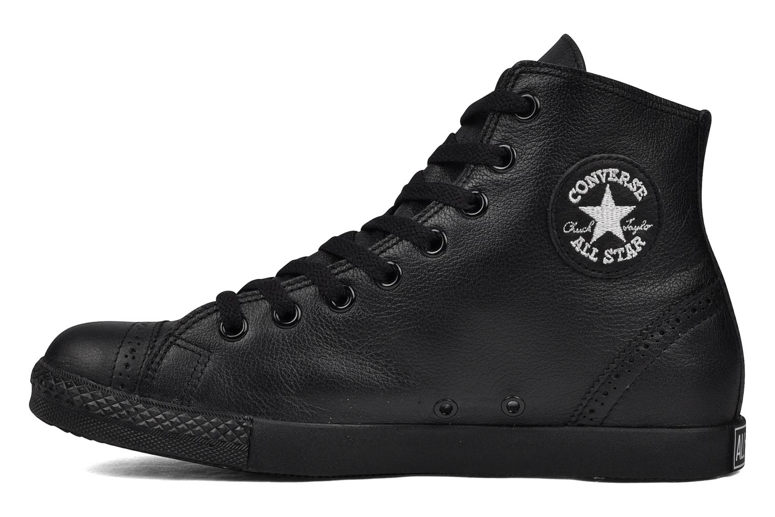 Trainers Converse Chuck Taylor mnml wingtip hi M Black front view