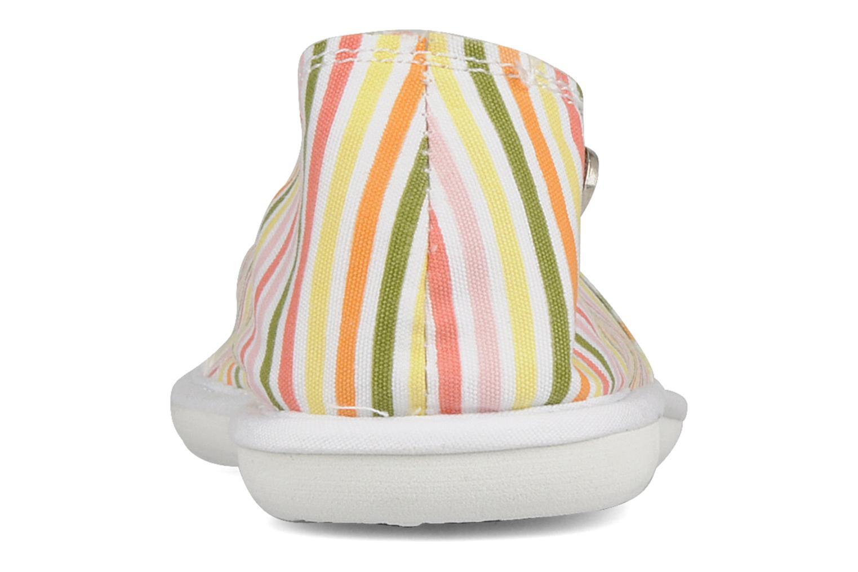 Espadrilles Roxy Oiana Multicolore vue droite