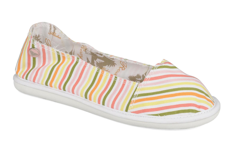 Espadrilles Roxy Oiana Multicolore vue détail/paire