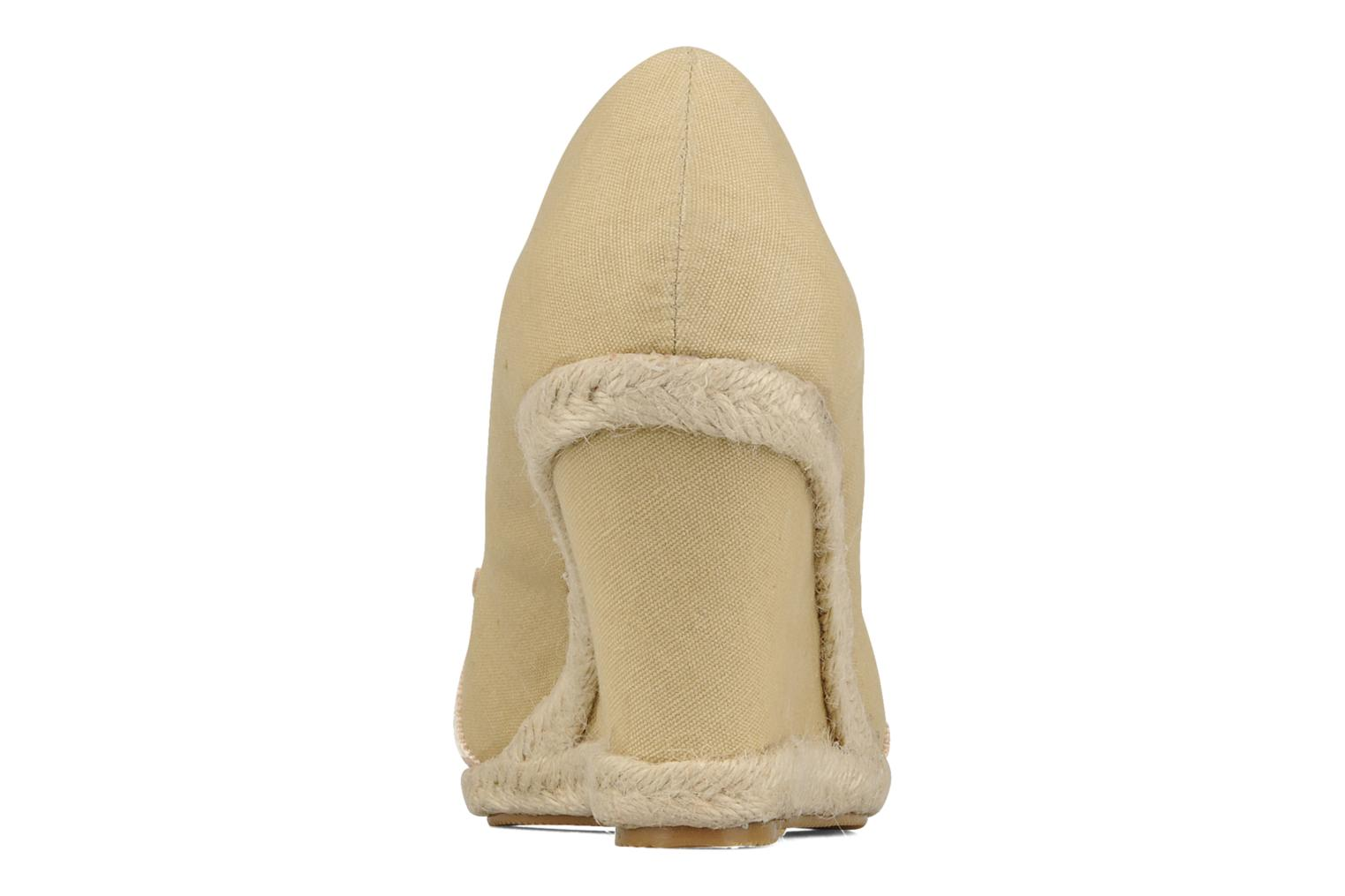 High heels Friis & company Tonika Beige view from the right