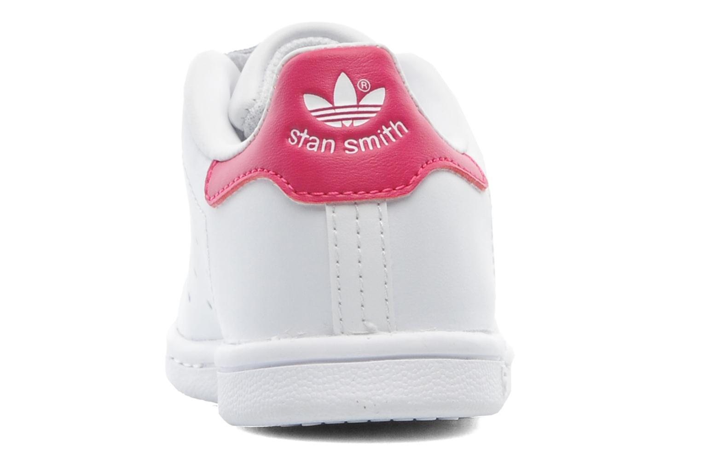 Sneaker Adidas Originals Stan smith cf I weiß ansicht von rechts