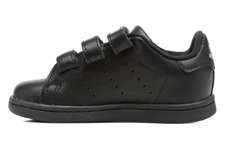 Sneaker Adidas Originals Stan smith cf I schwarz ansicht von vorne