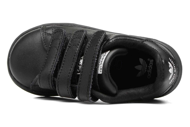 Sneaker Adidas Originals Stan smith cf I schwarz ansicht von links