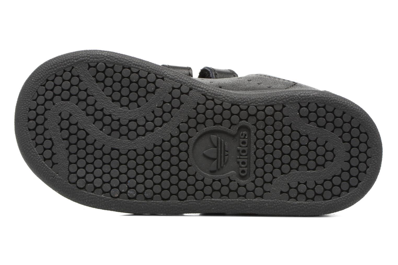 Sneaker Adidas Originals Stan smith cf I schwarz ansicht von oben