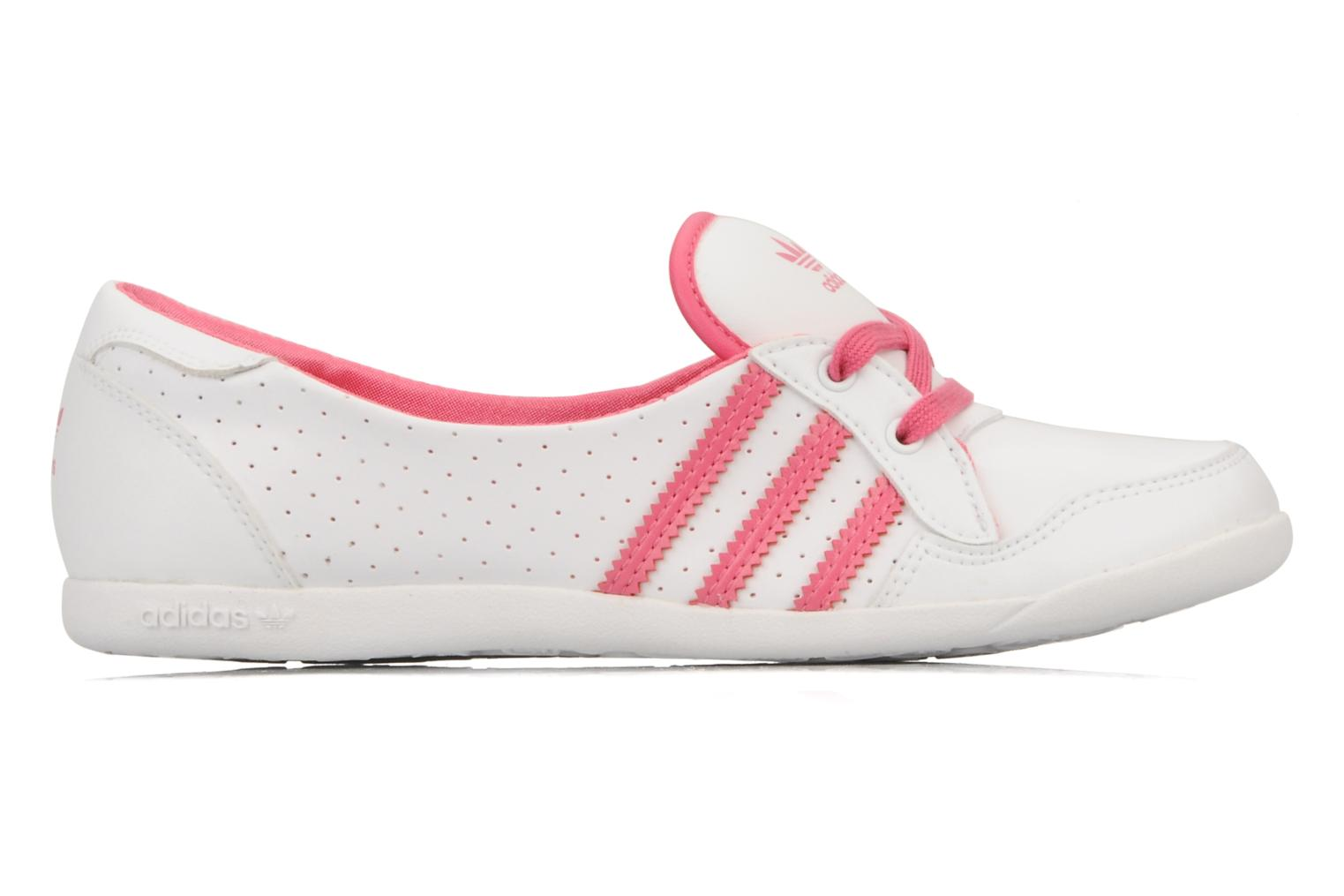 Ballerina's Adidas Originals Forum slipper Wit achterkant