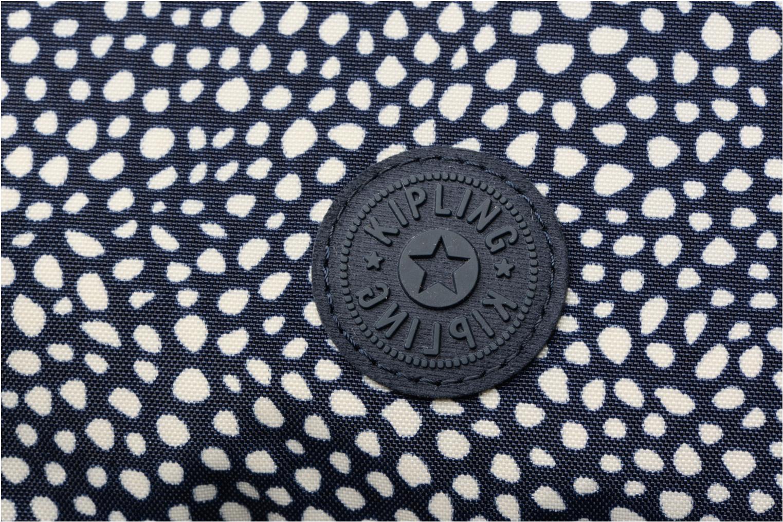 Handtaschen Kipling Alvar blau ansicht von links