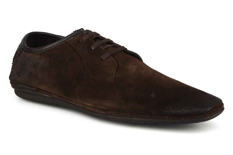 Lace-up shoes Base London Talon Brown detailed view/ Pair view