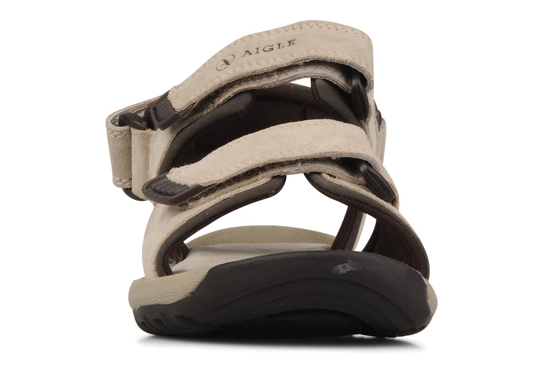 Sport shoes Aigle Slacke w Beige model view