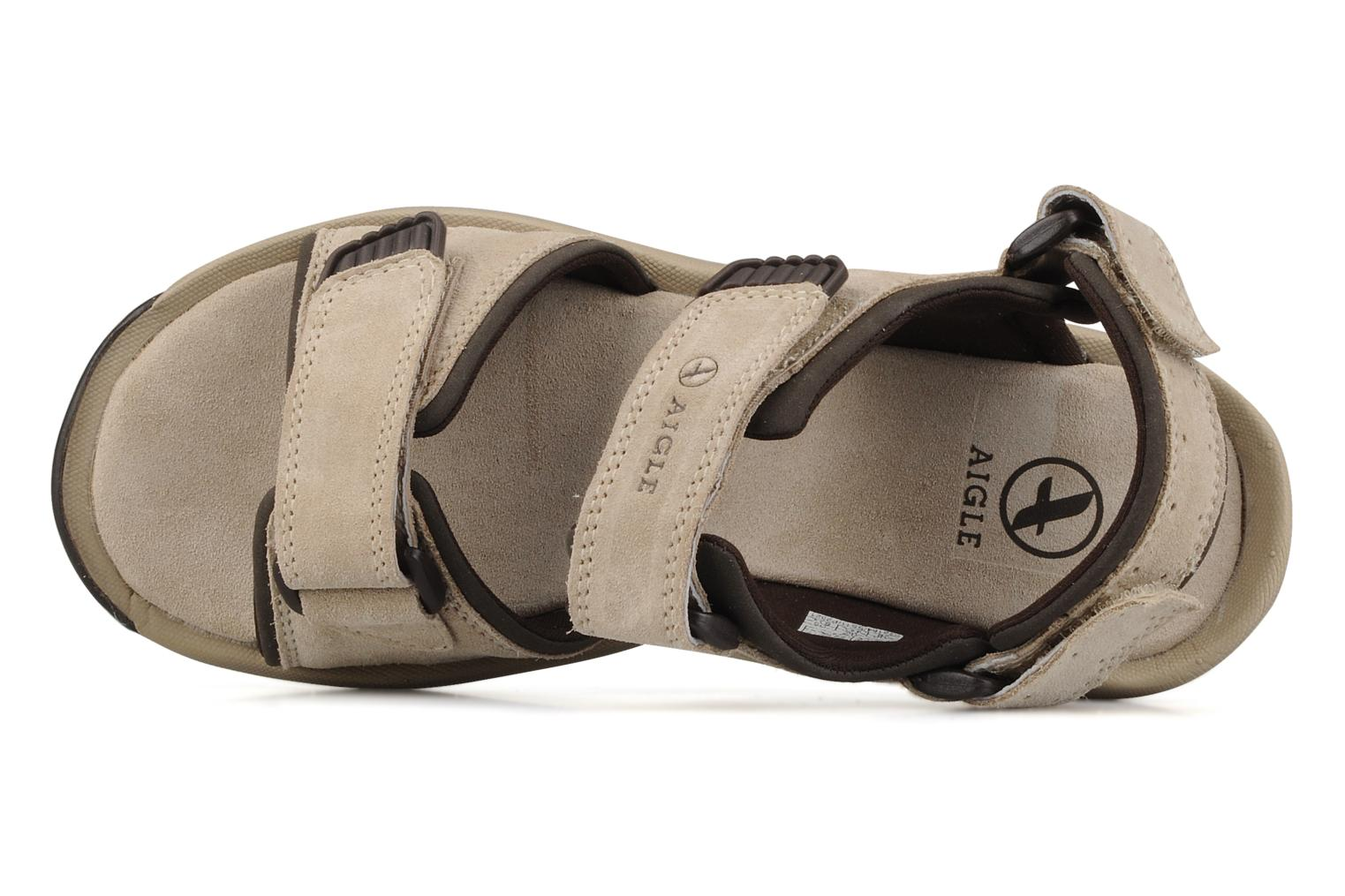 Sport shoes Aigle Slacke w Beige view from the left