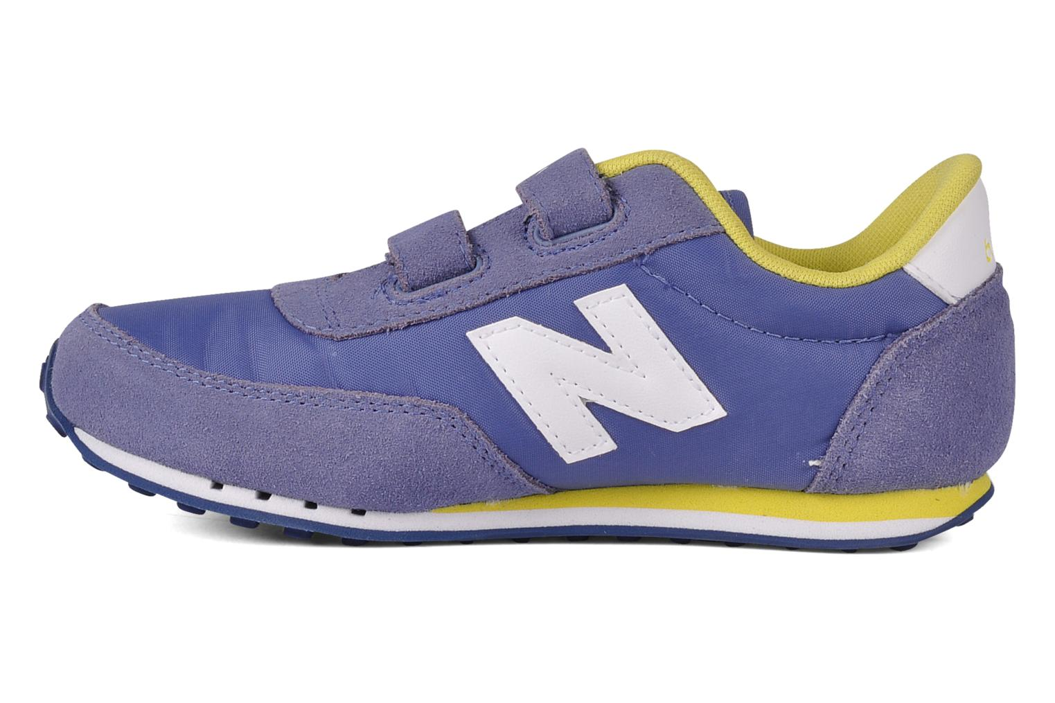 Baskets New Balance KE410 Bleu vue face