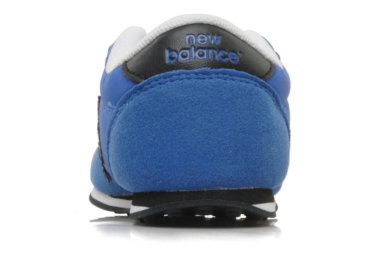 Baskets New Balance KE410 Bleu vue droite