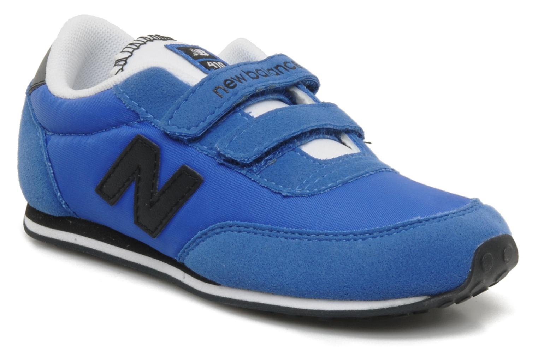 Baskets New Balance KE410 Bleu vue détail/paire