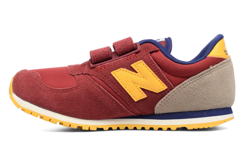 Sneaker New Balance Ke420 weinrot ansicht von vorne