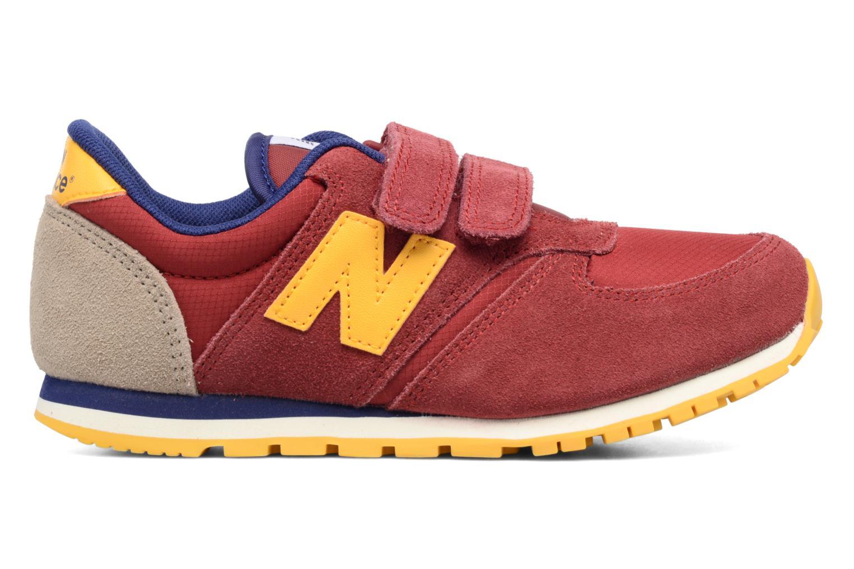 Sneaker New Balance Ke420 weinrot ansicht von hinten