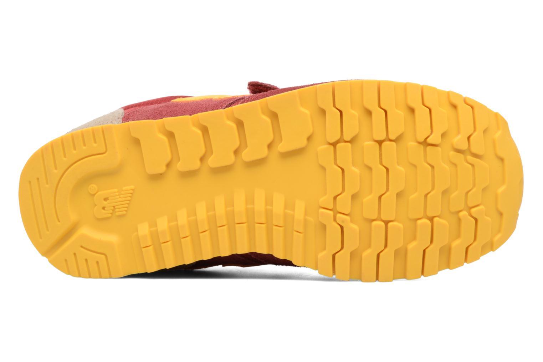 Sneaker New Balance Ke420 weinrot ansicht von oben