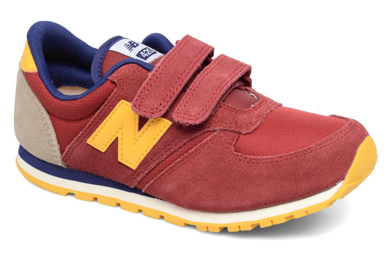 Sneaker New Balance Ke420 weinrot detaillierte ansicht/modell