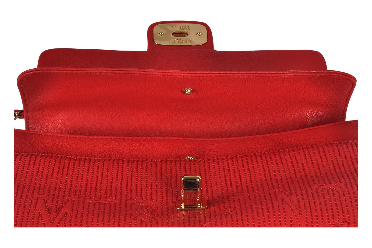 Mosquilted flap Red