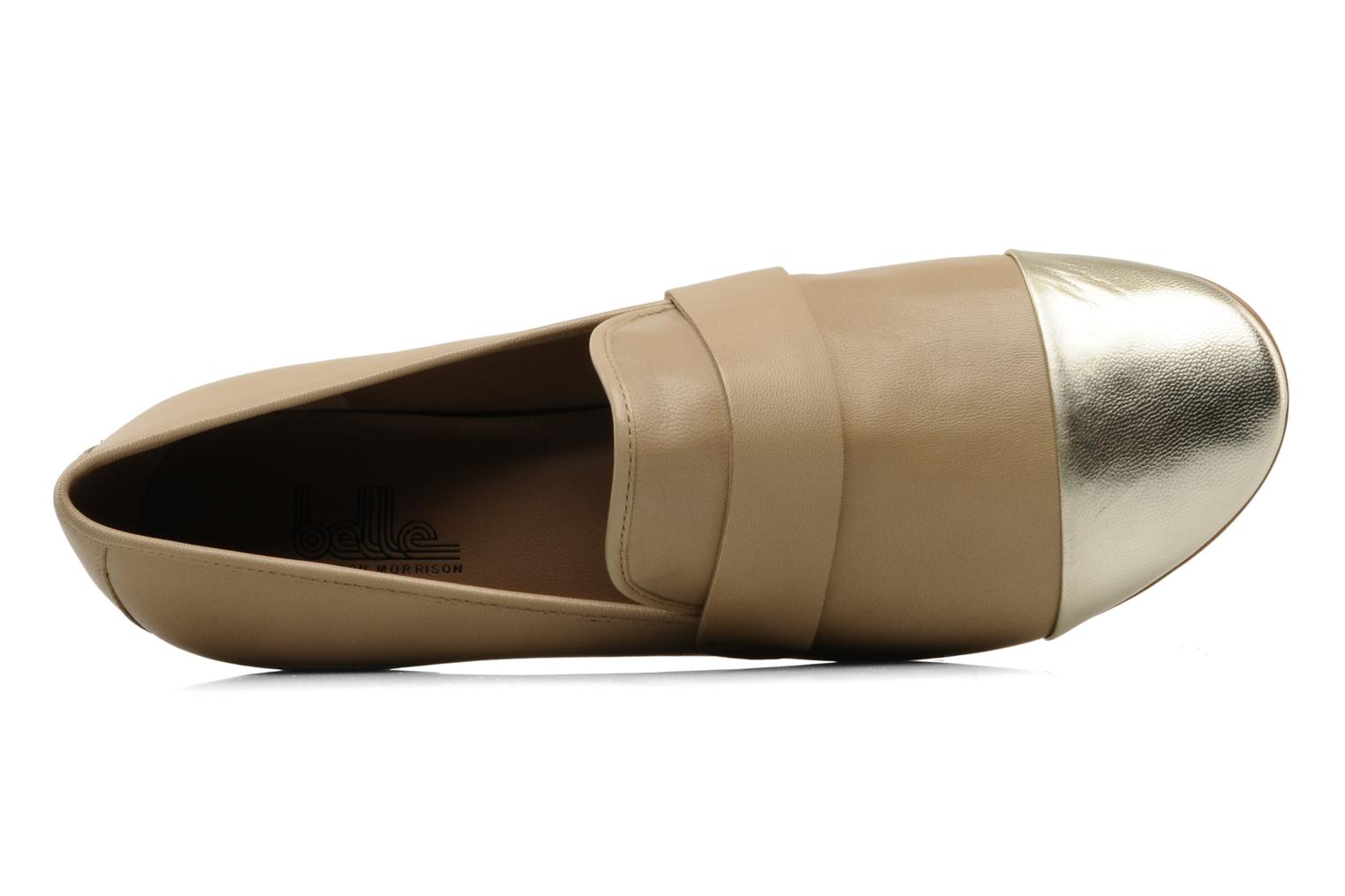 Loafers Belle Eddy Beige view from the left
