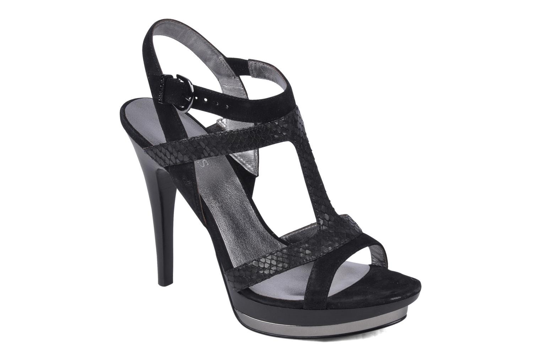 Sandales et nu-pieds Guess Balize Noir vue détail/paire