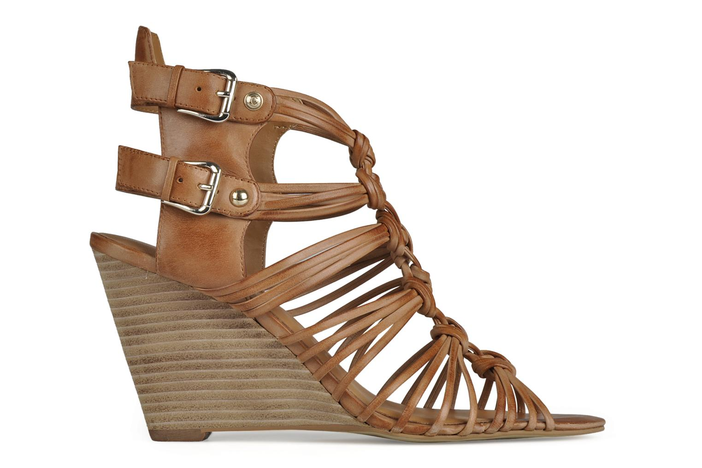 Sandali e scarpe aperte Guess Oblated Marrone immagine posteriore