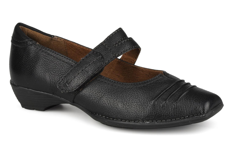 Jeanne Black leather