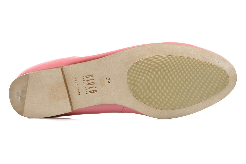Ballerina's Bloch Patent ballerina Roze boven