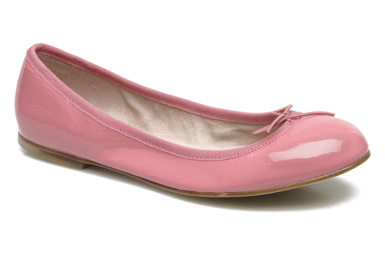Ballerina's Bloch Patent ballerina Roze detail