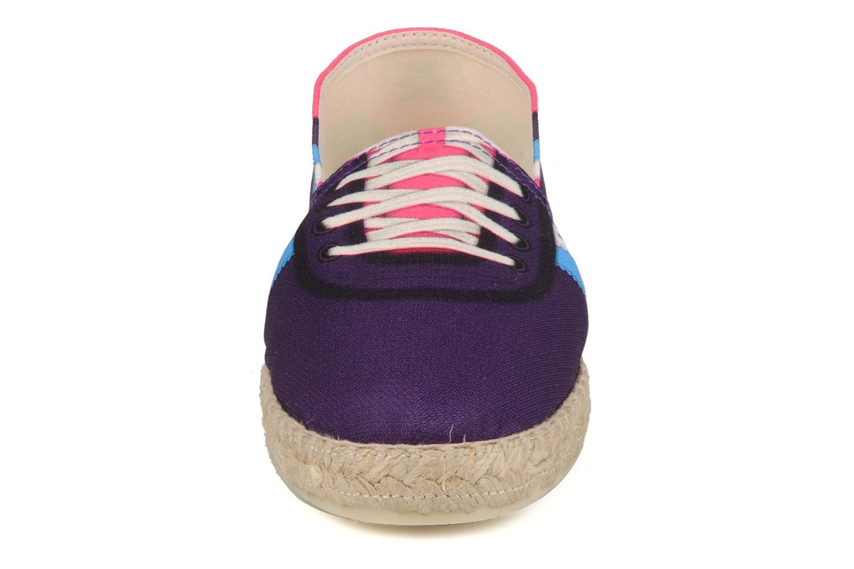 Espadrilles BSIDED Reborn w Violet vue portées chaussures