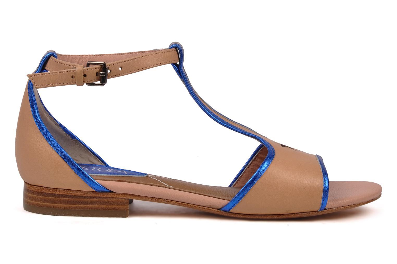 Sandales et nu-pieds C.Petula Starsky Beige vue derrière