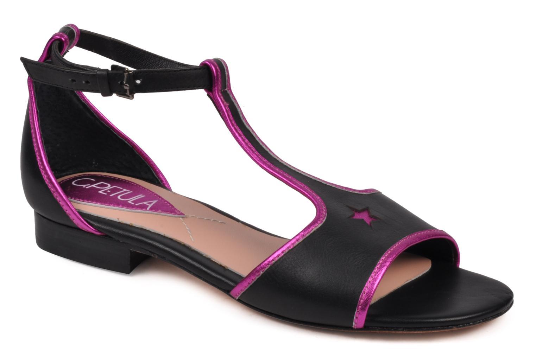 Sandales et nu-pieds C.Petula Starsky Noir vue détail/paire