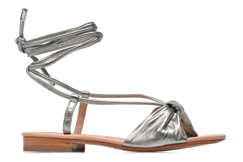 Sandales et nu-pieds C.Petula Rizzo Argent vue derrière