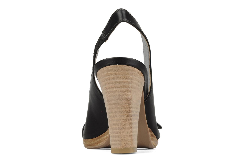 Sandales et nu-pieds JB MARTIN Otis Noir vue droite
