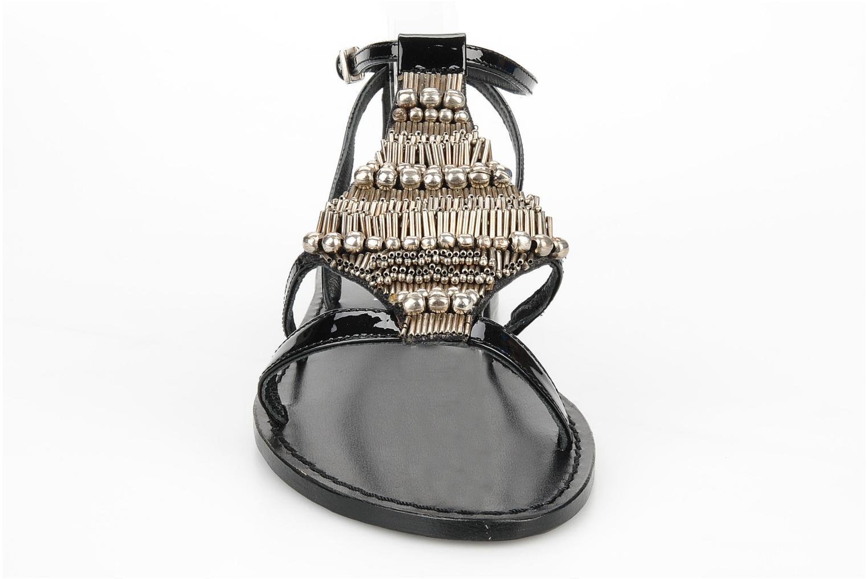 Sandales et nu-pieds JB MARTIN Allen Noir vue portées chaussures