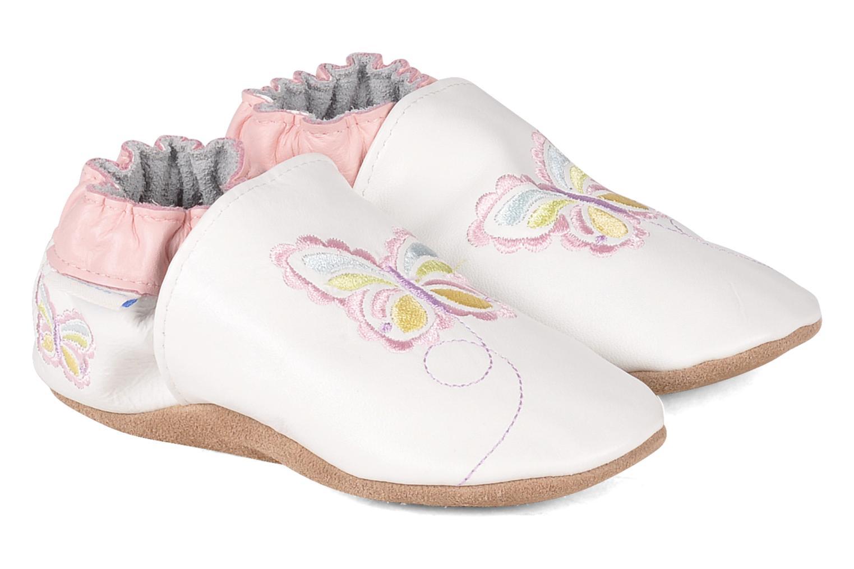 Pantofole Robeez Mini monarch Bianco vedi dettaglio/paio