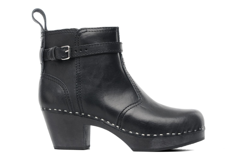 Boots en enkellaarsjes Swedish Hasbeens Jodhpur Zwart achterkant