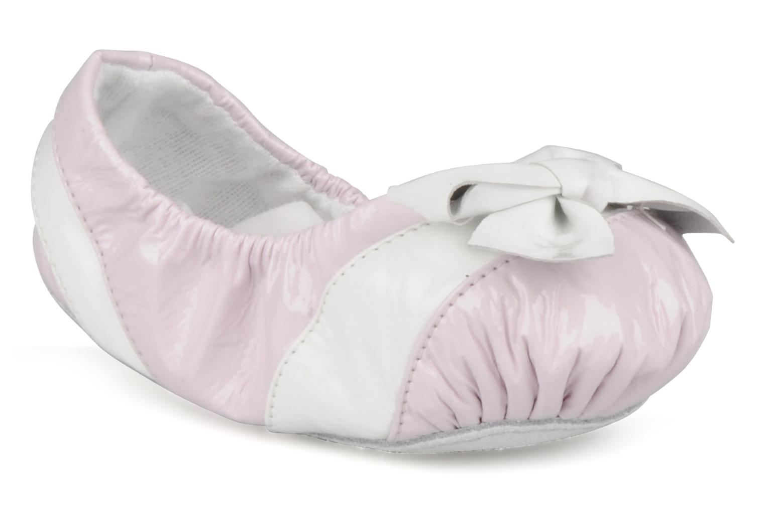 Slippers Bloch Louane Pink detailed view/ Pair view