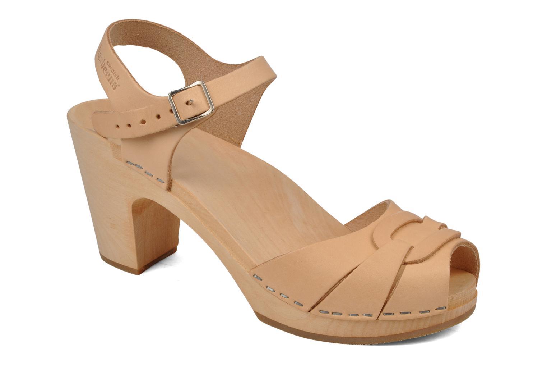Zapatos promocionales Swedish Hasbeens Peep toe super high (Beige) - Sandalias   Los últimos zapatos de descuento para hombres y mujeres