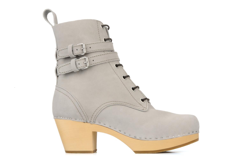 Bottines et boots Swedish Hasbeens Combat boot Gris vue derrière