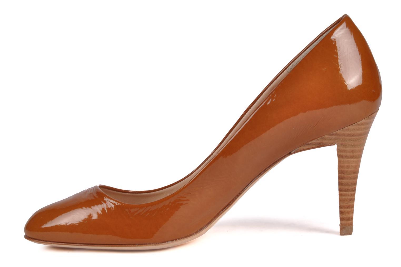 High heels Charles Jourdan Gabrielle 2 Brown front view