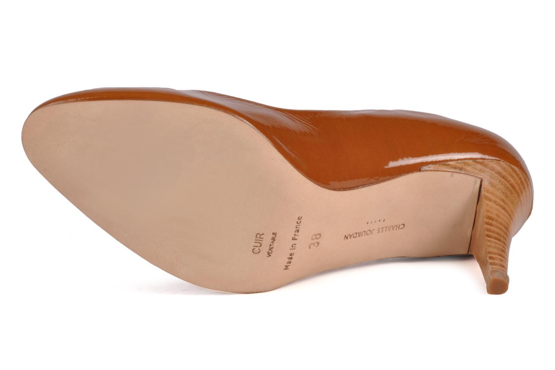 High heels Charles Jourdan Gabrielle 2 Brown view from above