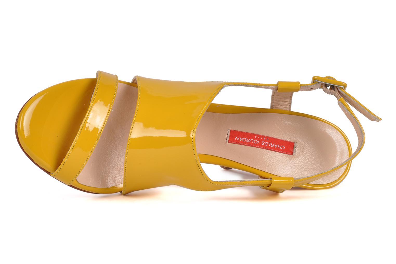 Sandali e scarpe aperte Charles Jourdan Pulpfiction Giallo immagine sinistra
