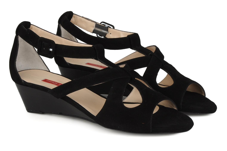 Sandals Charles Jourdan Kate Black 3/4 view