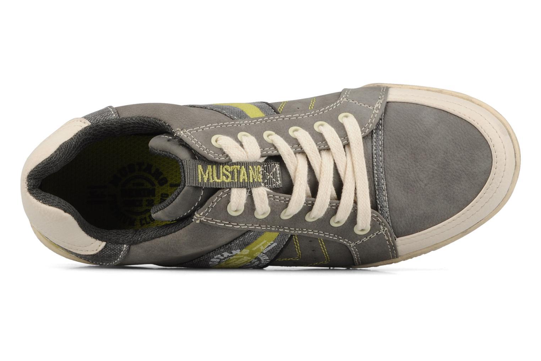 Sneakers Mustang shoes Koura Grijs links