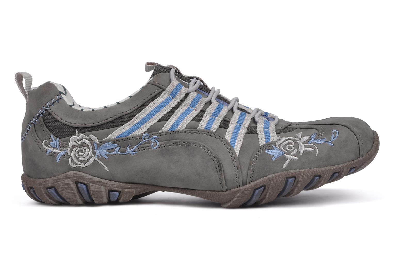 Sneakers Mustang shoes Laggi Grå se bagfra
