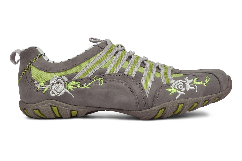 Sneaker Mustang shoes Laggi grau ansicht von hinten