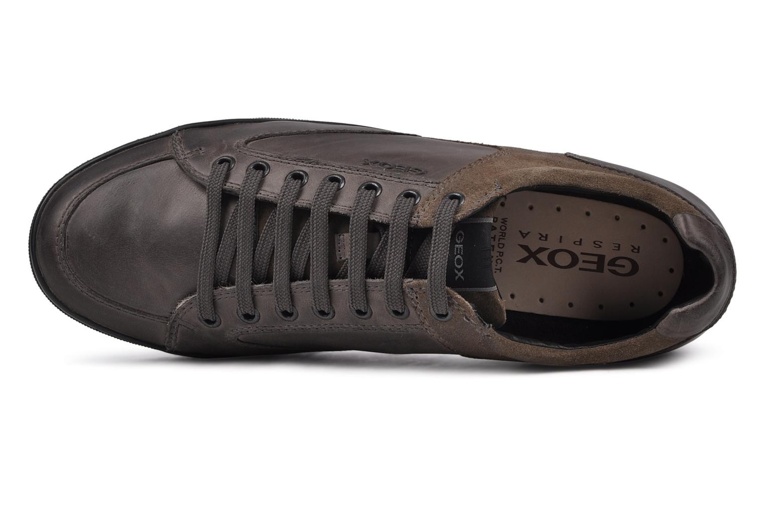 Trainers Geox U Cristian R Grey view from the left